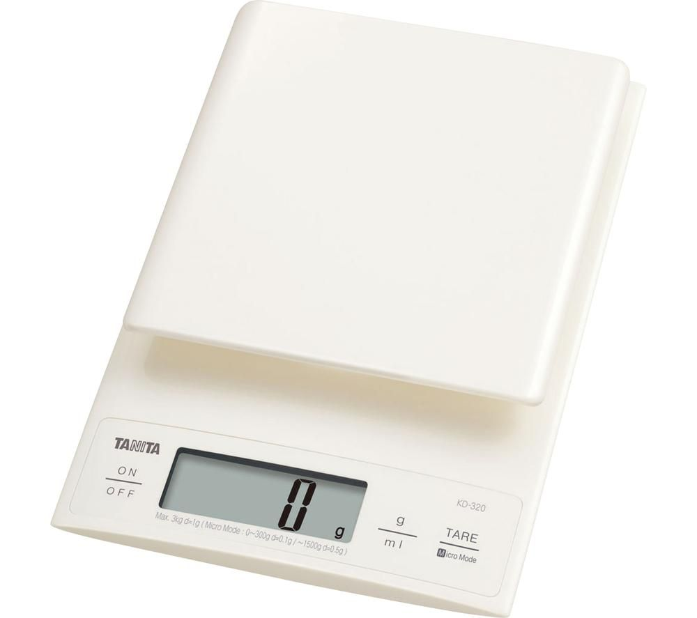 Image of KD-320 Electronic Kitchen Scale - White, White