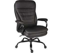 Goliath B991 Bonded Leather Reclining Executive Office Chair - Black