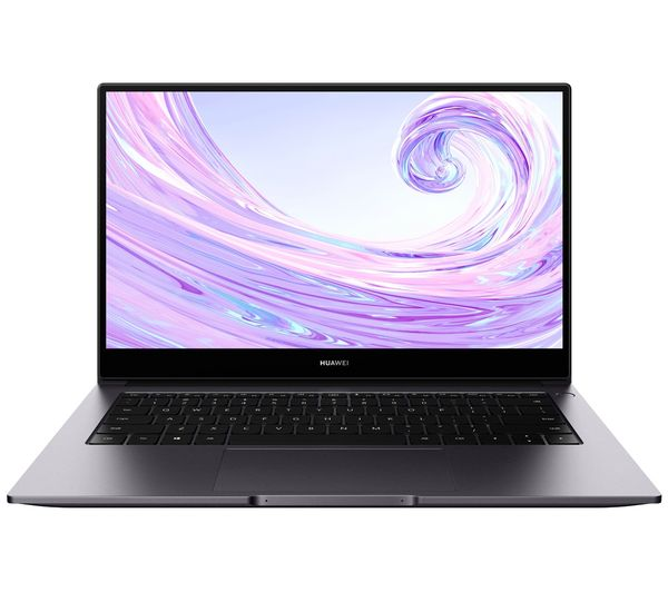 "Image of HUAWEI MateBook D 14"" Laptop - AMD Ryzen 5, 512 GB SSD, Space Grey"