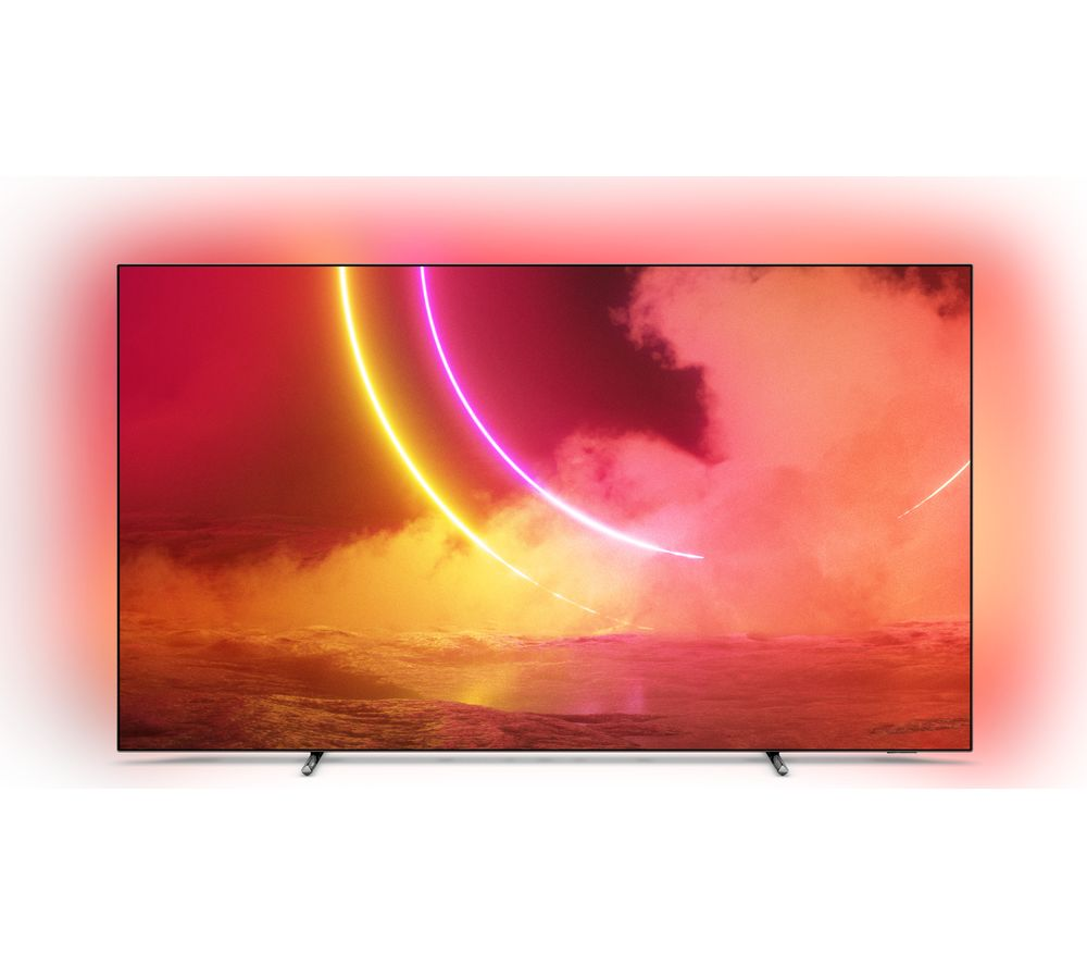 "PHILIPS 55OLED805 55"" Smart 4K Ultra HD HDR OLED TV with Google Assistant"