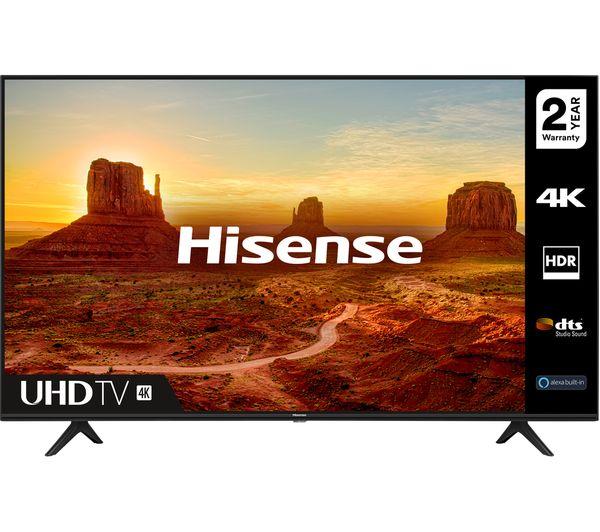 "Image of HISENSE 55A7100FTUK 55"" Smart 4K Ultra HD HDR LED TV"