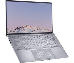 "Image of ASUS ZenBook 14 UM433IQ-A5037T 14"" Laptop - AMD Ryzen 5, 256 GB SSD, Grey"