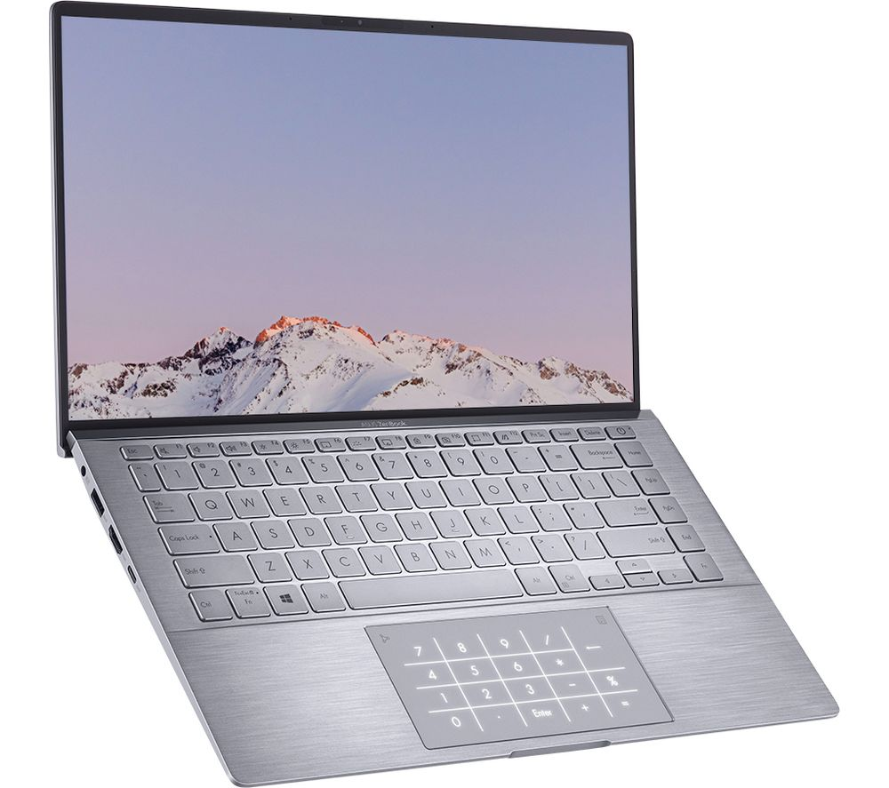 "Image of ASUS ZenBook 14 UM433IQ-A5037T 14"" Laptop - AMD Ryzen 5, 256 GB SSD, Grey, Grey"