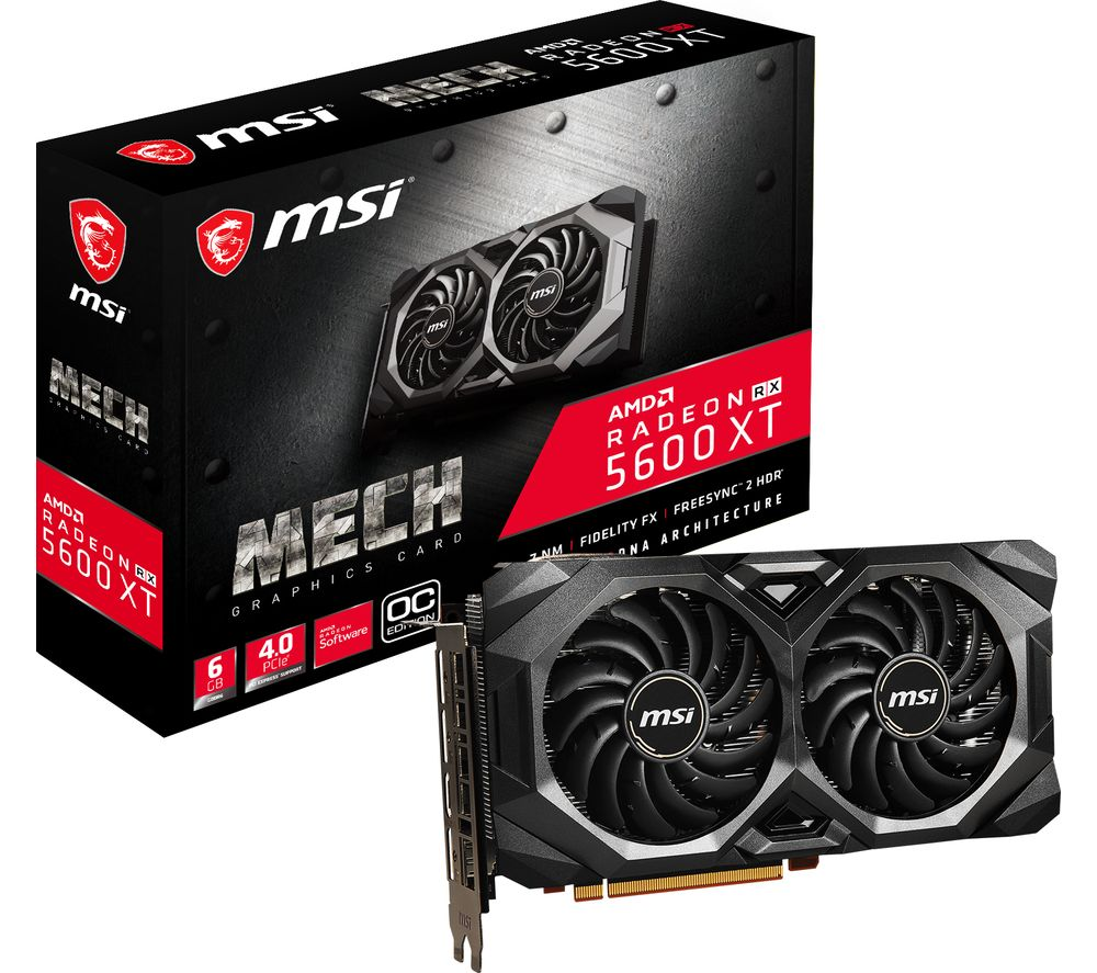 Image of MSI Radeon RX 5600 XT 6 GB MECH OC Graphics Card