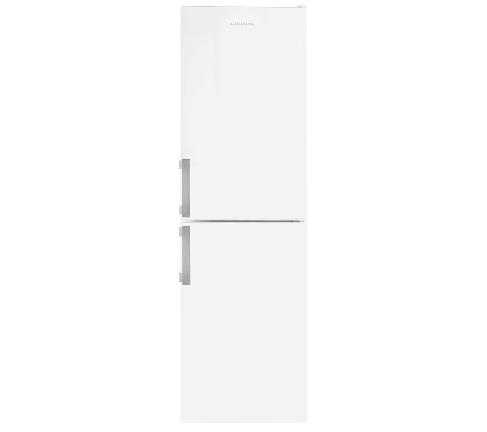 GRUNDIG GKF35810W 50/50 Fridge Freezer - White, White