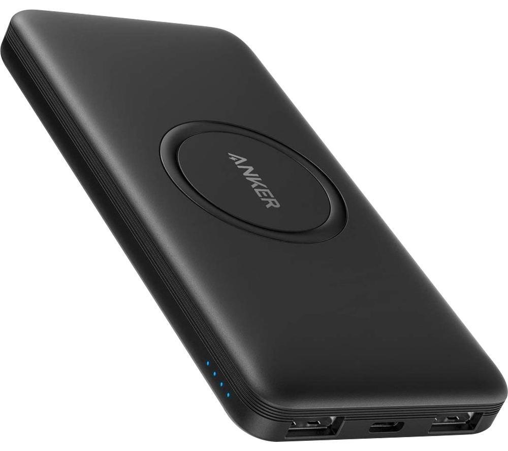 ANKER PowerCore 10000 Wireless Portable Power Bank - Black