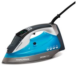 MORPHY RICHARDS Saturn Intellitemp 305003 Steam Iron - Blue Best Price, Cheapest Prices