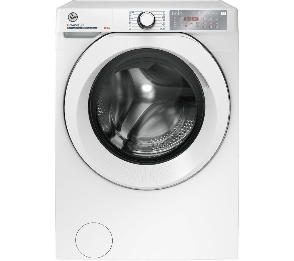 HOOVER H-Wash 500 HWB 410AMC WiFi-enabled 10 kg 1400 Spin Washing Machine - White, White