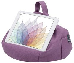 Bean Bag Tablet Stand - Purple