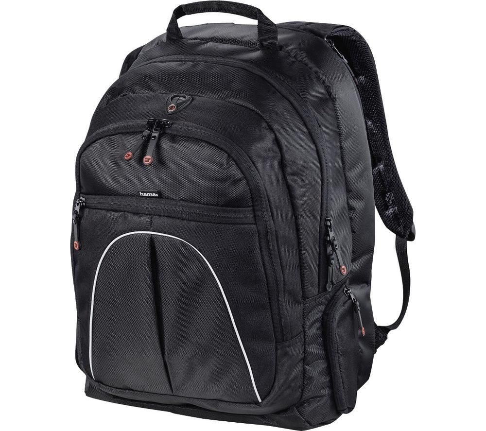 "HAMA Active Line Vienna 17.3"" Laptop Backpack - Black, Black"