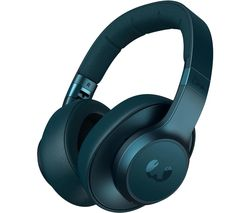 Clam ANC Wireless Bluetooth Noise-Cancelling Headphones - Blue