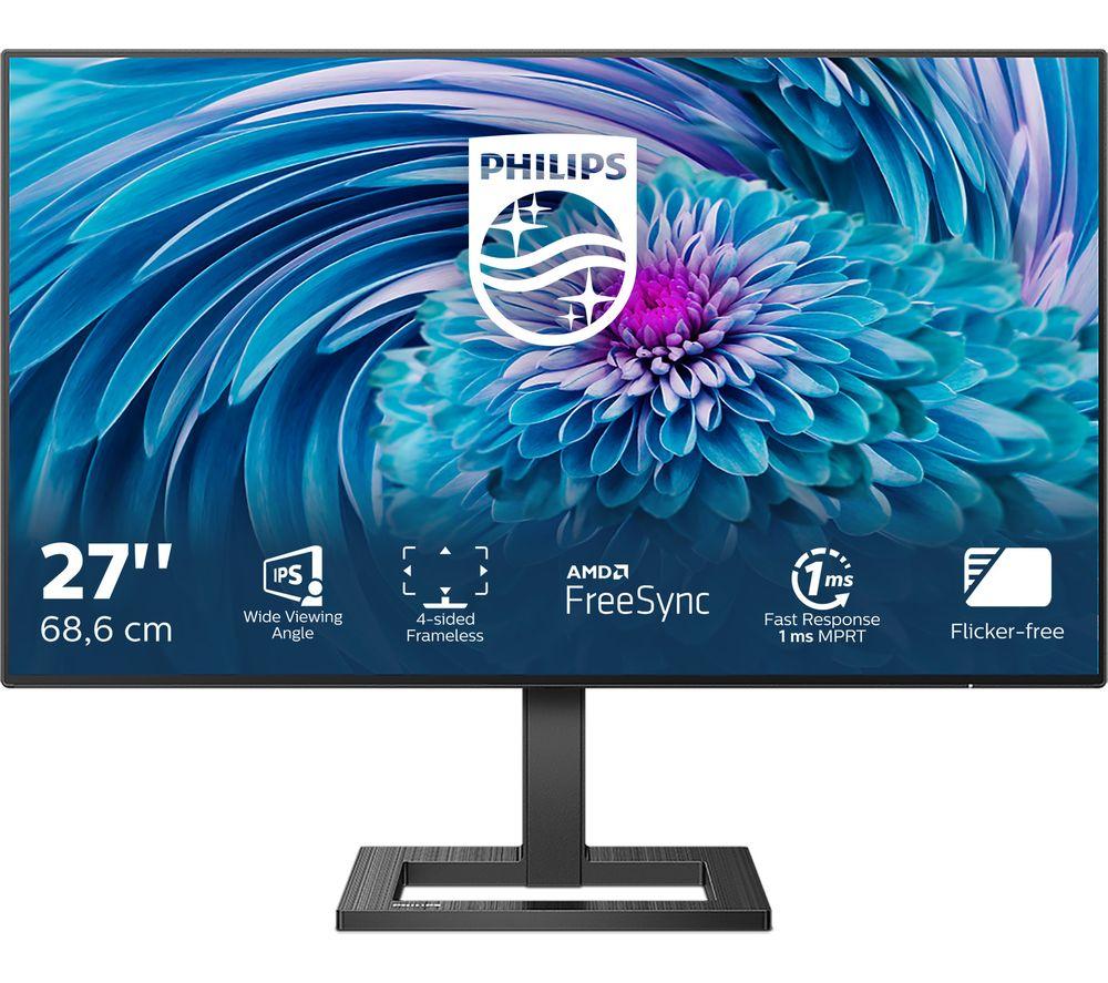 "PHILIPS 272E2FA Full HD 27"" LCD Monitor - Black"