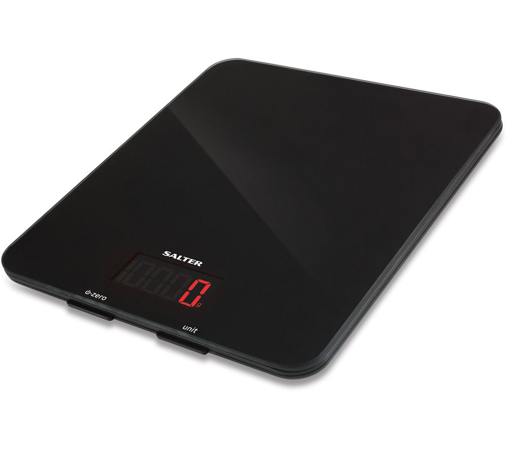 SALTER 1160 BKDR Digital Kitchen Scales - Black