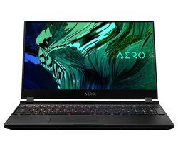 "AERO OLED 15YC 15.6"" Gaming Laptop - Intel® Core™ i9, RTX 3080, 1 TB SSD"