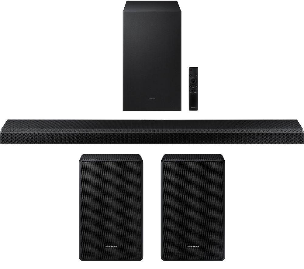 SAMSUNG HW-Q700A/XU 3.1.2 Wireless Sound Bar with Dolby Atmos & Wireless Rear Speaker Kit Bundle