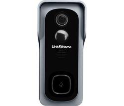 L2H-Bell Battery Video Doorbell - Black