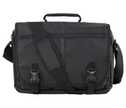 "LOGIK LLMB12 16"" Laptop Messenger Bag - Black"