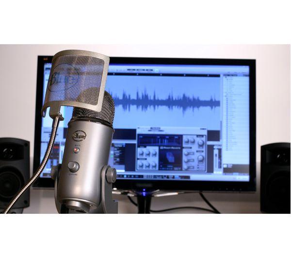 BLUE Yeti Professional USB Microphone - Silver