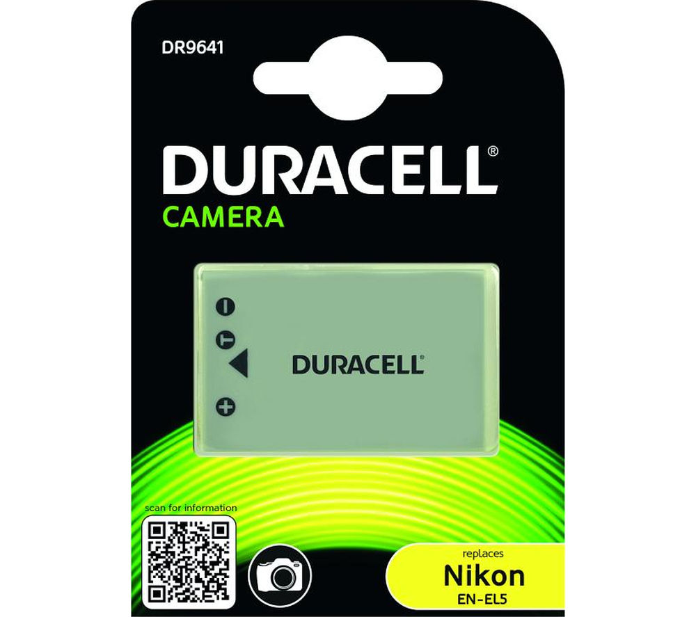 Image of DURACELL DR9641 Lithium-Ion Rechargeable Camera Battery