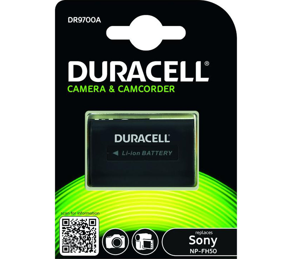 Buy DURACELL DR9700A Lithium-ion Camcorder Battery | Free