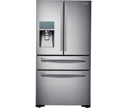 SAMSUNG RF24FSEDBSR American-Style Fridge Freezer - Real Stainless