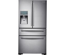 SAMSUNG RF24FSEDBSR/EU American-Style Fridge Freezer - Real Stainless