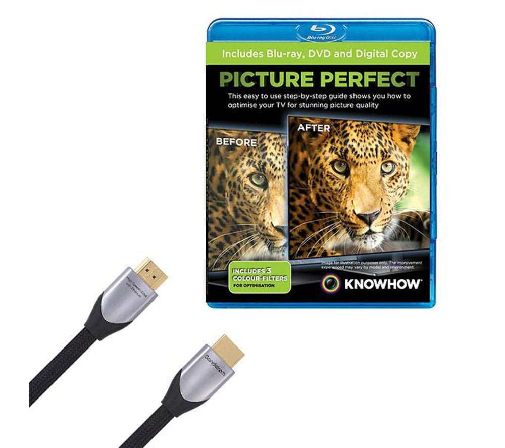 KNOWHOW Silver Series HDMI Cable with Picture Perfect