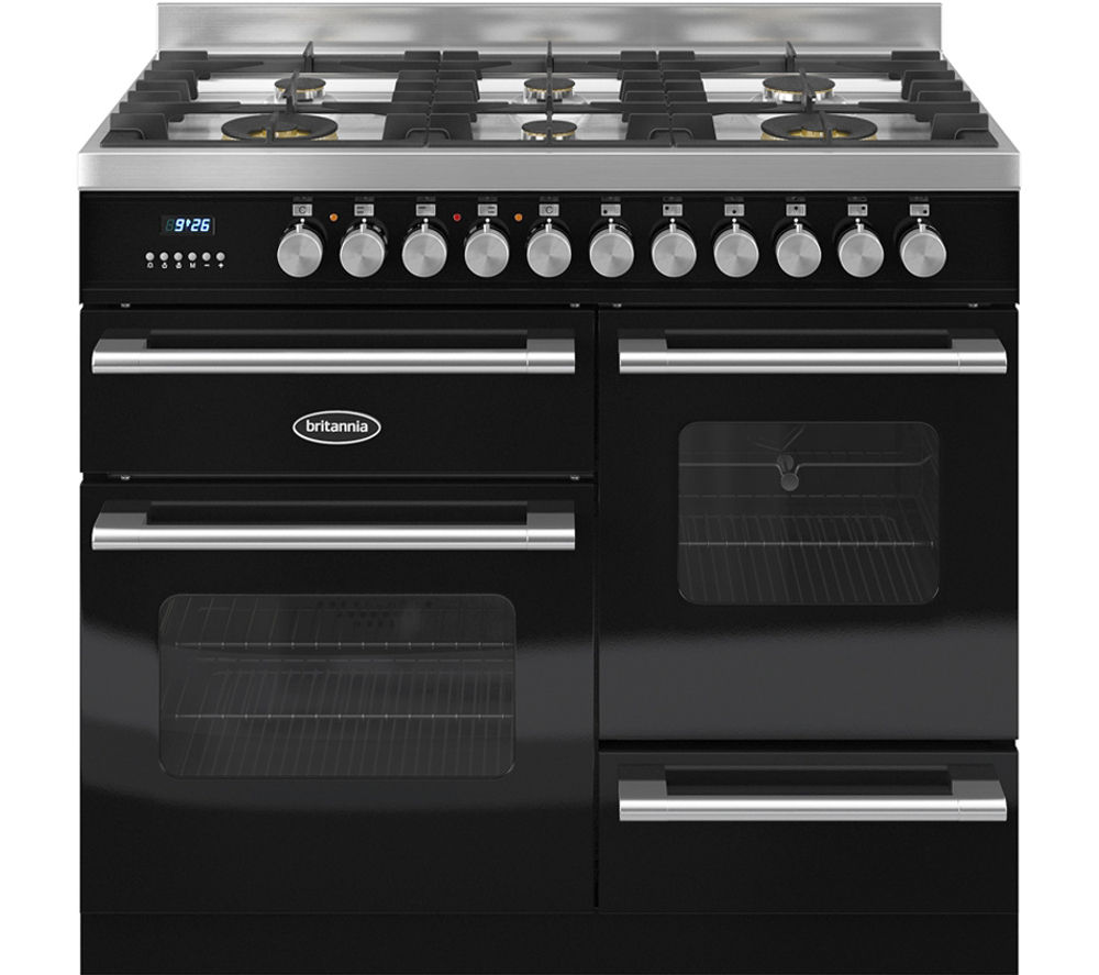 Compare prices for Britannia Delphi 100 XG Dual Fuel Range Cooker