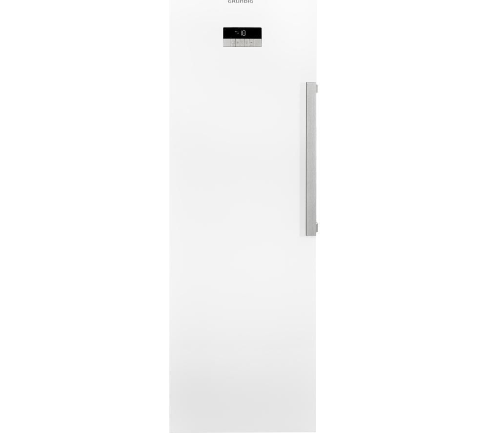 GRUNDIG GFN13810W Tall Freezer - White, White