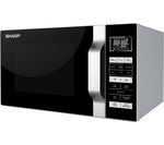 SHARP R760SLM Microwave with Grill - Silver & Black