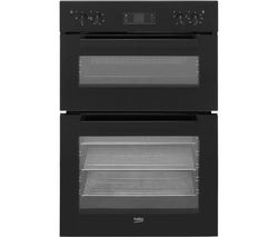 BEKO BDF22300B Electric Double Oven - Black