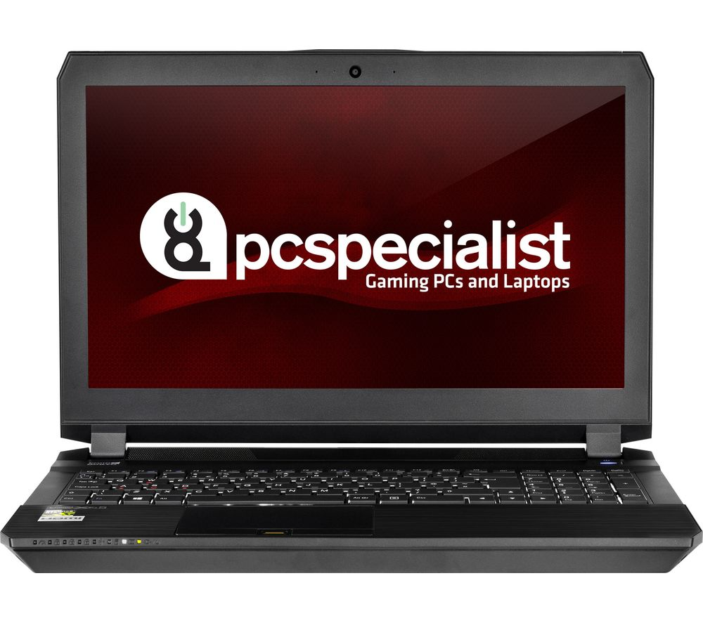 "PC SPECIALIST Defiance III RS15-X 15.6"" Gaming Laptop - Black"