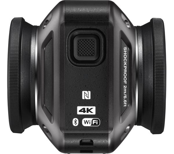 Buy Nikon Keymission 360 4k Ultra Hd Action Camera Black