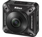 NIKON KeyMission 360 4K Ultra HD Action Camcorder - Black