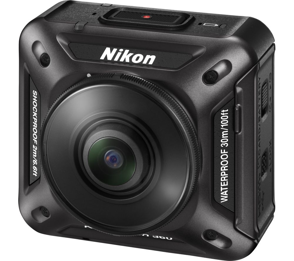 NIKON KeyMission 360 4K Ultra HD Action Camera - Black