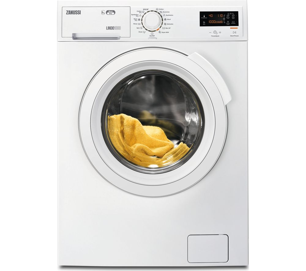 ZANUSSI ZWD91683NW Washer Dryer - White, White Review thumbnail