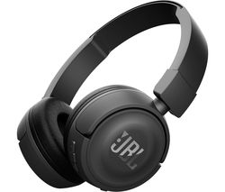 JBL T450BT Wireless Bluetooth Headphones - Black