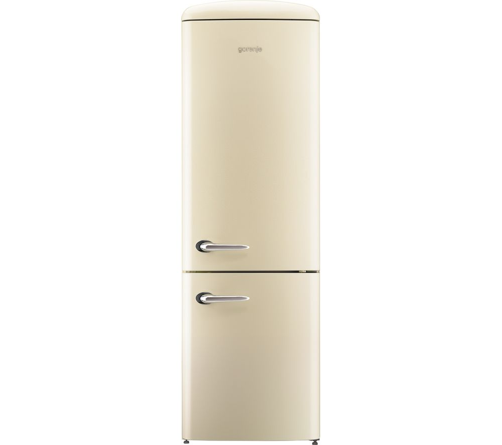 buy gorenje onrk193c fridge freezer cream free delivery currys. Black Bedroom Furniture Sets. Home Design Ideas