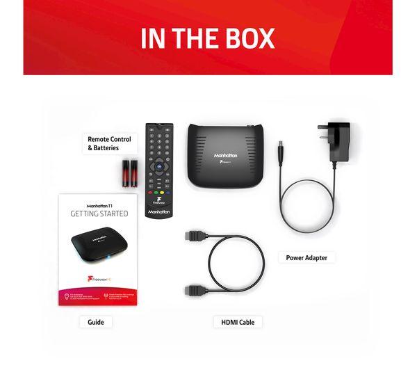 MANHATTAN T1 Freeview HD Set Top Box