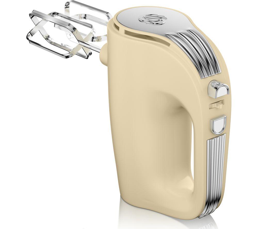 SWAN Retro SP20150CN Hand Mixer - Cream