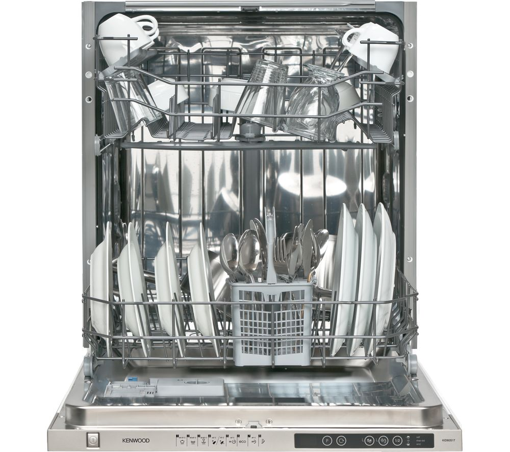 Buy Kenwood Kid60s17 Full Size Integrated Dishwasher