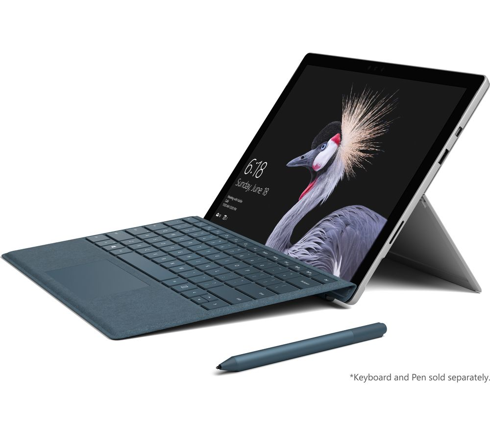 MICROSOFT Surface Pro - 128 GB + Office 365 Personal + LiveSafe Premium - 1 user / unlimited devices for 1 year