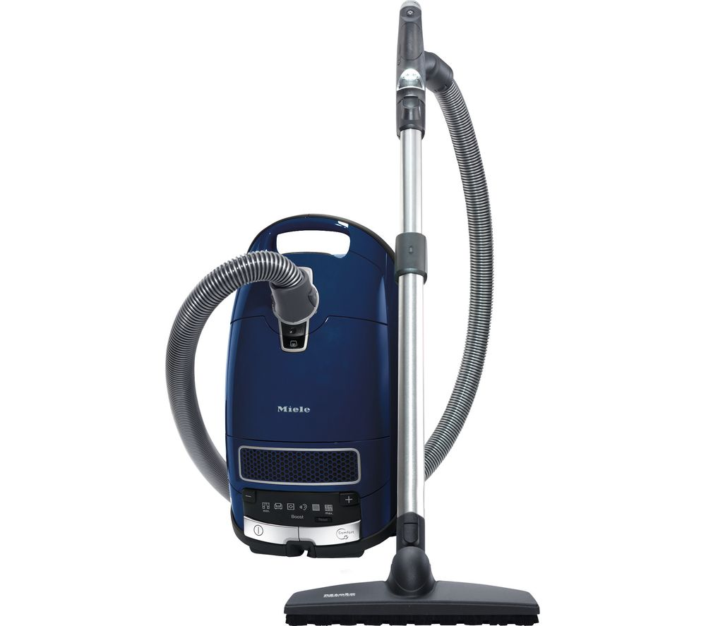 buy miele complete c3 boost premium edition cylinder vacuum cleaner blue free delivery currys. Black Bedroom Furniture Sets. Home Design Ideas