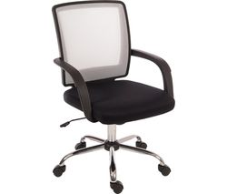 TEKNIK Star 6910WH Mesh Reclining Executive Chair - White