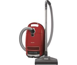 MIELE Complete C3 Cat & Dog PowerLine Cylinder Vacuum Cleaner - Red