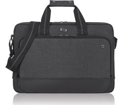 "SOLO Astor Slimline 15.6"" Laptop Case - Grey"