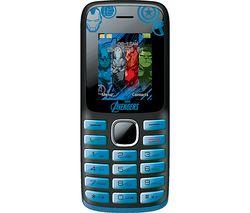 LEXIBOOK GSM20AV Avengers Phone - Blue & Black