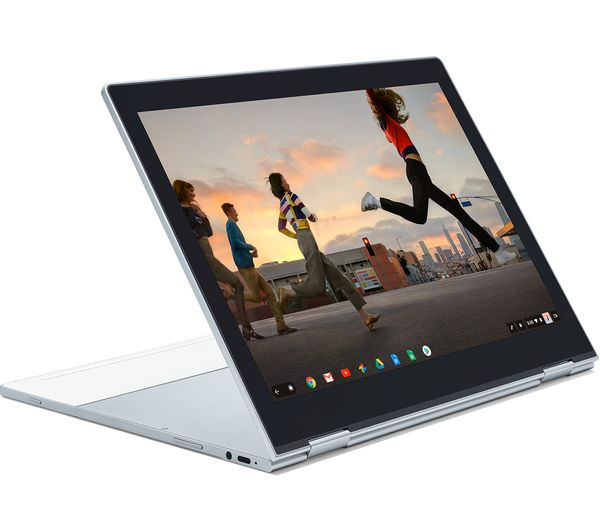 "Image of GOOGLE Pixelbook 00124 12.3"" 2 in 1 Chromebook - Silver"