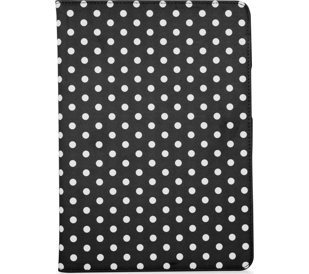 GOJI 9.7 inch iPad Folio Case - Black & White
