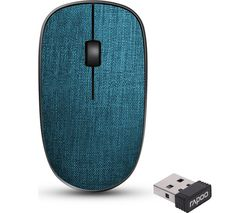 3510 Plus Wireless Optical Mouse - Blue
